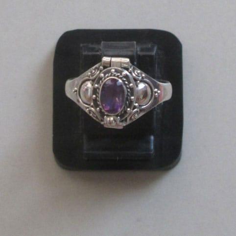 PR005 Poison Box Ring/Pillbox Ring