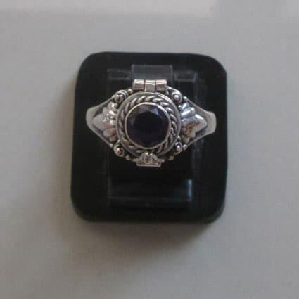 PR010 Poison Box Ring/Pillbox Ring